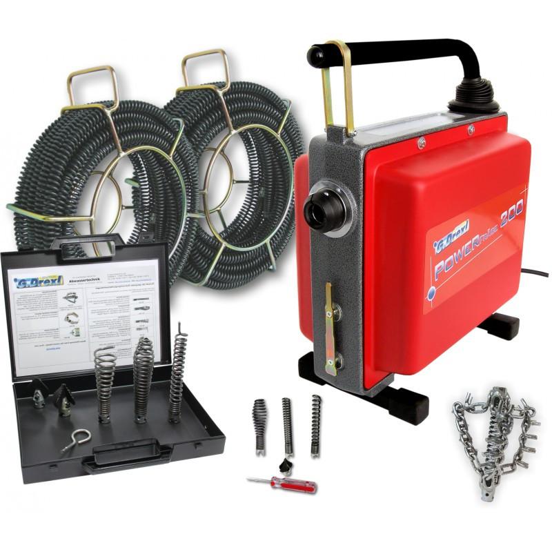 Инструмент и оборудование для прочистки труб