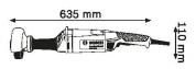 Шлифмашина прямая BOSCH GGS 8 SH (0601214300) 1