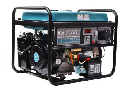 Бензиново-газовый генератор Konner&Sohnen KS 7000