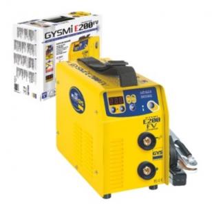 Сварочный инвертор GYS Gysmi E200 FV в чемодане с аксессуарами (031210)
