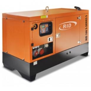 Дизельный генератор RID 130 B-SERIES S в шумозащитном кожухе
