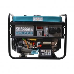Бензиново-газовый генератор Konner&Sohnen KS 7000E G