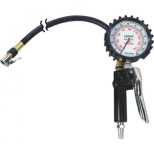 Подкачка шин с манометром, шланг 1м Licota
