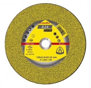 Отрезной круг (125х22,23х2,5) Klingspor A 24 Extra (242138)