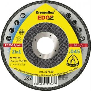 Отрезной круг Kronenflex (125x1,2x22,23) EDGE Special Klingspor (317820)