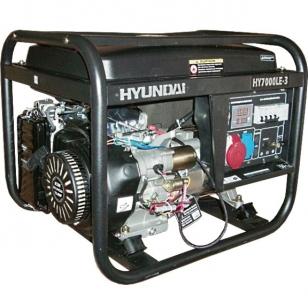 Бензиновый генератор HYUNDAI HY 7000LE с электростартом