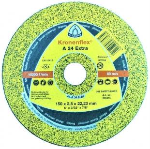 Отрезной круг Kronenflex (150x2,5x22,23) A 24 Extra Klingspor (235375)