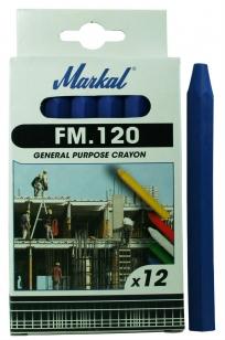 Промышленный восковой мелок (синий) FM.120 Markal 44010400
