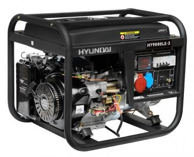 Бензиновый генератор HYUNDAI HY 9000LE с электростартом