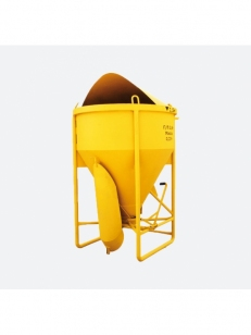 Бункер бетонной массы (туфелька) SPEKTRUM ББМП-1,5