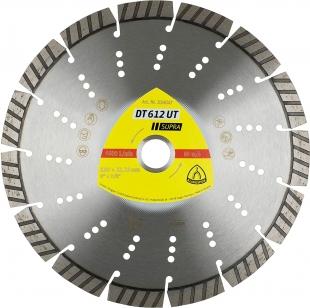 Алмазный отрезной круг (230х22,23х2,6) Klingspor DT 612 UT Supra (334047)