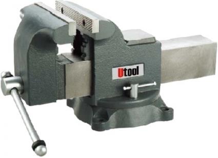 Тиски поворотные Механик 100 мм Utool U17206