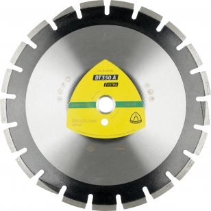 Алмазный отрезной круг (350х3,2х25,4) Klingspor DT350A Extra (337730)