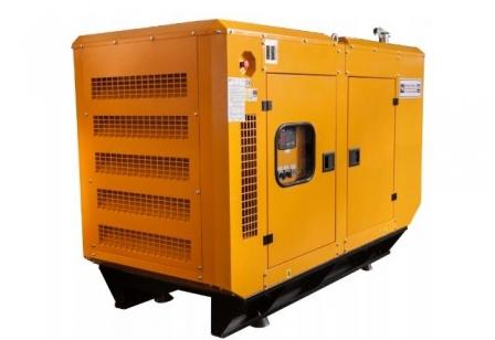 Дизельный генератор KJ Power KJP 50 в шумозащитном кожухе