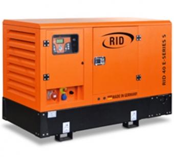 Дизельный генератор RID 40 E-SERIES S в шумозащитном кожухе
