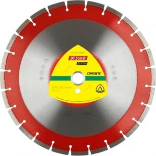 Алмазный отрезной круг (350х25,4х3) Klingspor DT 350 B Eхtra (339830)