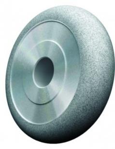 Круги алмазные 1FF1 плоские АС4 125/100 В2-01 с полукругло-выпуклым профилем