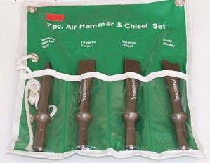 Комплект коротких зубил для пневмозубила JAH-6833H JONNESWAY JAZ-3944H