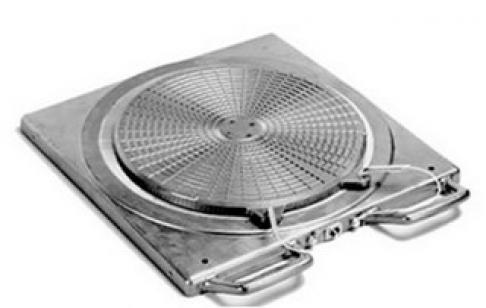 Передний поворотный Al круг BEISSBARTH с нагрузкой 1000 кг