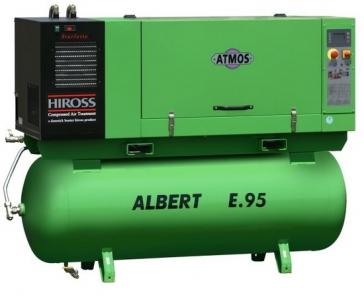 Винтовой компрессор ATMOS ALBERT E.95 K/500/S в шумозащитном кожухе с осушителем холодильного типа