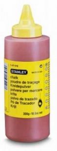 Порошок меловой STANLEY, красный, для наружных кладочных работ, не смываемый
