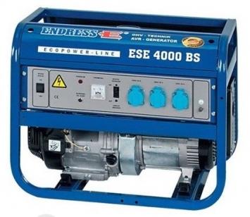 Генератор ENDRESS ESE 4000 BS ES бензиновый ECOPOWER-LINE