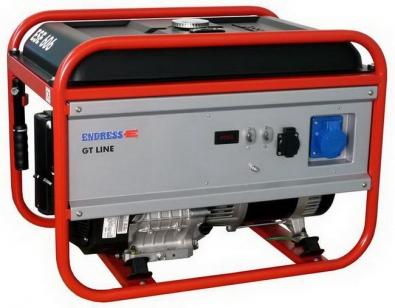 Генератор ENDRESS ESE 606 DRS-GT бензиновый GT-LINE