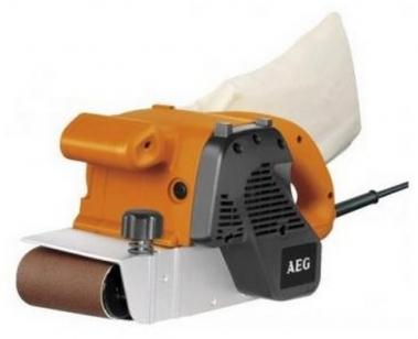Шлифовальная машина (шлифмашина) ленточная AEG BBSE 1100