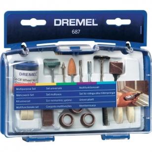 Набор многофункциональный 687 Dremel (26150687JA)