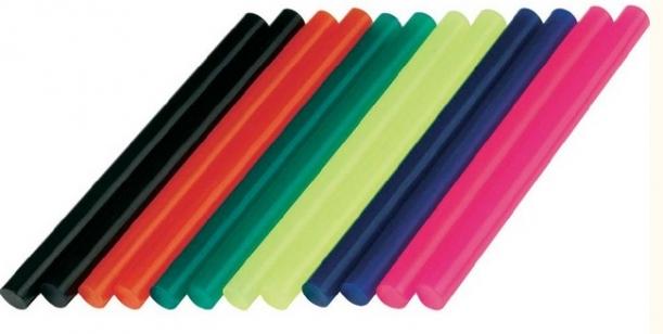 Клеевой стержень для пистолет (7 мм) DREMEL цветной