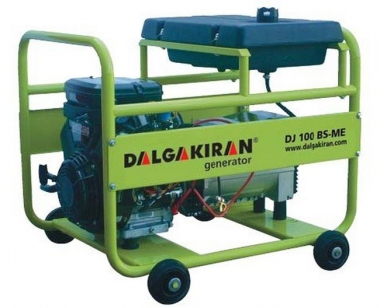 Бензиновый генератор DALGAKIRAN DJ 150 BS-TE трехфазный с электростартом