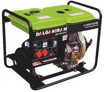 Дизельный генератор DALGAKIRAN DJ 4000 DG-E с электростартом