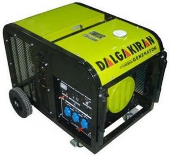 Бензиновый генератор DALGAKIRAN DJ 12000 BG-ME с электростартом