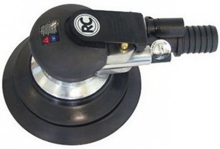 Шлифовальная машина пневматическая (шлифмашина) RODCRAFT 7669 орбитальная, 150 мм, ход 2,5 мм, 10000 об/мин, 350 л/мин