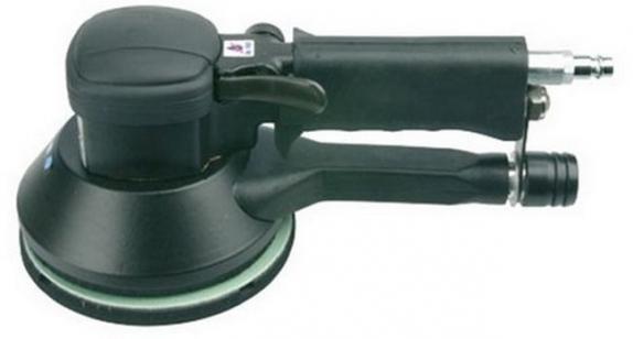 Шлифовальная машина пневматическая (шлифмашина) RODCRAFT 7680 орбитальная, 150 мм, ход 5 мм, 900-10000 об/мин, 340 л/мин