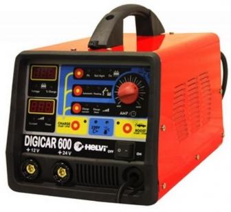 Зарядное устройство для автомобильного аккумулятора HELVI Digicar 600