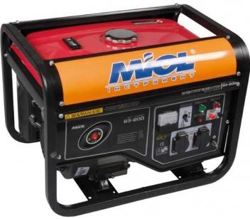 Бензиновый генератор MIOL 83-250