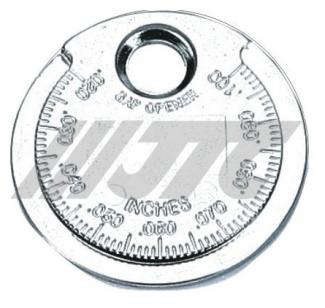 Приспособление для проверки зазора между элетродами свечи накала JTC 1507 (монета)