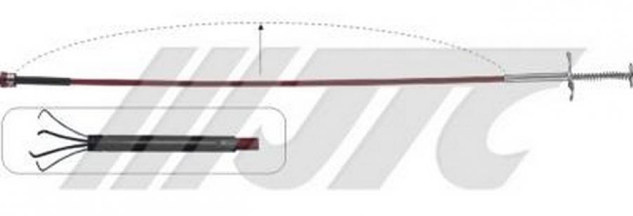 Экстрактор в боудене цанговый с магнитом JTC 5058