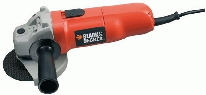 Болгарка (угловая шлифовальная машина) BLACK+DECKER KG725DD