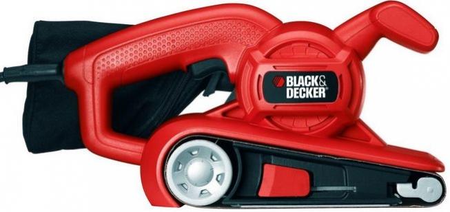 Шлифовальная машина (шлифмашина) ленточная BLACK+DECKER KA86