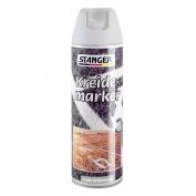 Аэрозольный меловой маркер (500 мл) Kreide-marker (белый) STANGER 117402
